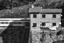 Un treno in casa -Vernazza